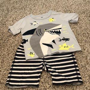 Tea collection shark short set